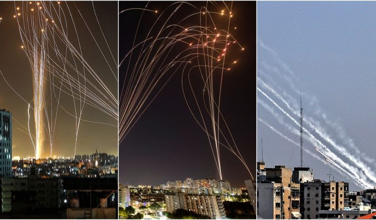 """สรุปเบื้องต้น """"อิสราเอล"""" ปะทะ """"ฮามาส"""" ยิงจรวดถล่มกันแบบไม่หยุดพัก กลางวันก็ยิง กลางคืนก็ยิง"""